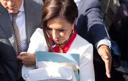 Robles empezó negociación de beneficios legales con la fiscalía