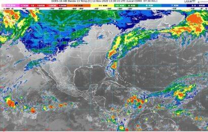 Pronostica SMN fuertes lluvias para Oaxaca, Puebla y Veracruz
