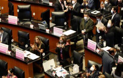 Por unanimidad el Senado aprueba 'Ley Olimpia'