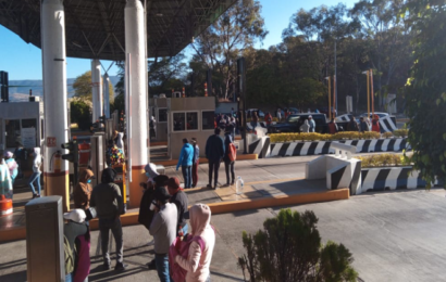 "Normalista toman caseta de Huitzo y realizan ""boteo"""