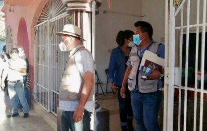 Con mediación de la Segego, liberan a las y los funcionarios retenidos en la agencia de Santa María Huamelula