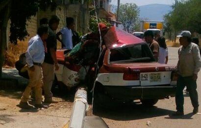 Accidentes de tránsito, segunda causa de muertes violentas en Oaxaca