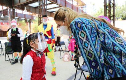 Ivette Morán de Murat invita a niñas y niños a participar en el Campamento Navideño 2020