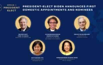 Joe Biden devela nuevas postulaciones para integrar su gabinete presidencial