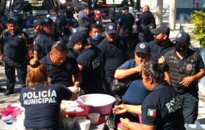 Policías de Salina Cruz Oaxaca cumplen 9 días de paro de labores