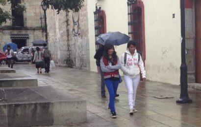 Este jueves, se pronostican lluvias intensas para Oaxaca