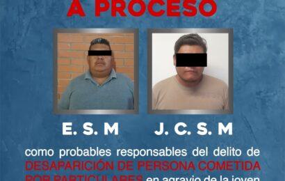 En prisión y vinculados a proceso probables responsables de desaparición de joven, en Huajuapan de León: Fiscalía General