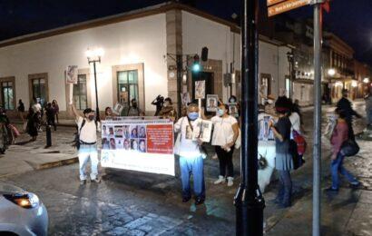 Con primera protesta del año, exigen búsqueda de familiares desaparecidos