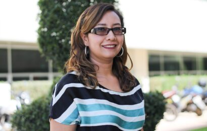 Esmeralda Cortés, abogada de Administración, y su pasión por el servicio público