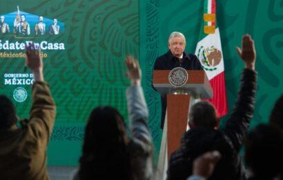 'Mañaneras' son un derecho del pueblo a informarse, no son propaganda, reitera López Obrador
