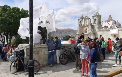 Protestan integrantes de CNPA para exigir apoyos ante pandemia