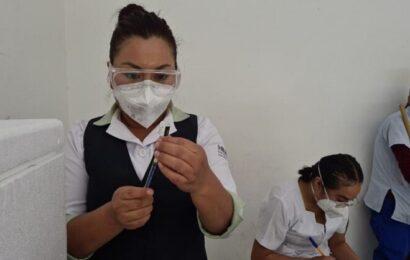 Aplican 78.2% de vacunas anticovid en Oaxaca