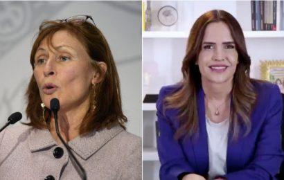 Tatiana Clouthier y Clara Luz Flores se aíslan tras convivir con AMLO