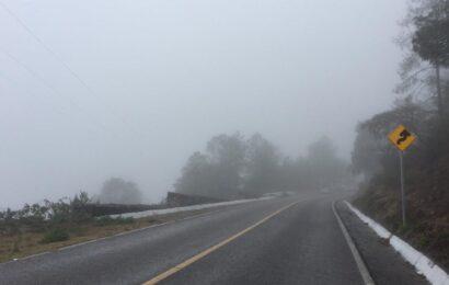 Habrá frío de 0 a 5 grados Celsius en zonas altas de Oaxaca