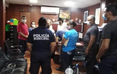 Policías de Salina Cruz levantan paro de labores