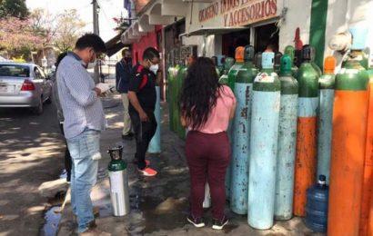 'Sí hay oxígeno, pero no hay cilindros'; piden devolver tanques en Oaxaca