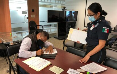 Abren en Oaxaca reclutamiento para vacante de guardia del Servicio de Protección Federal