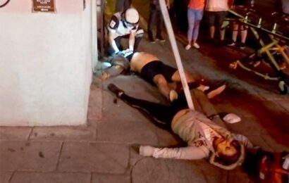 Lamentable; fallece pareja arrollada por auto en el centro de Oaxaca