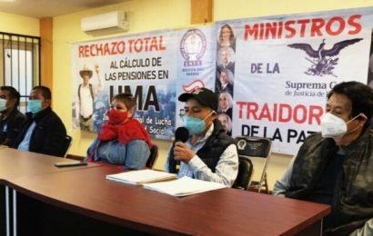 Sección 22 rechaza pago de pensiones en UMA; anuncia protestas