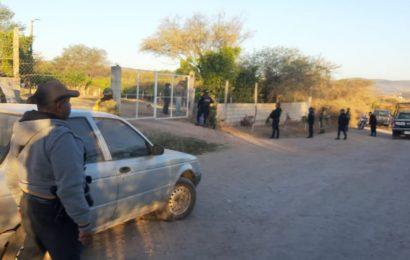 Implementan operativo y catean rancho por cajero de Banorte robado en Huajuápan