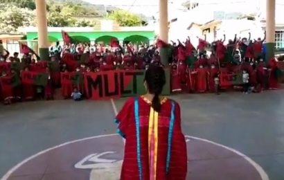 MULT rechaza, por enésima ocasión, presencia de la GN en la región Triqui