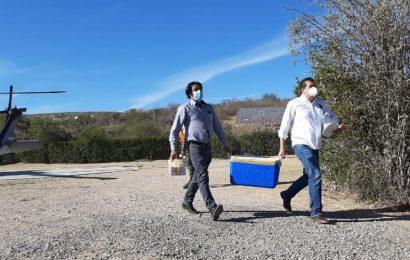 Llega a Oaxaca nueva remesa de 11 mil 700 vacunas anti-COVID-19