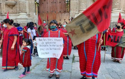 MULT quiere firma de paz a modo en la región Triqui de Oaxaca, denuncian