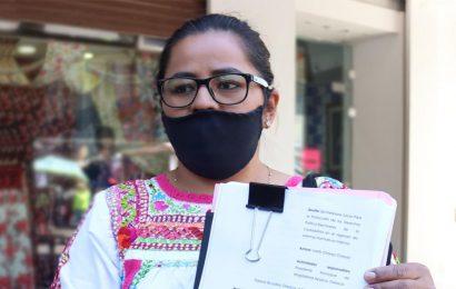Denuncian violencia de género de alcalde de Magdalena Apasco