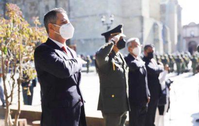 En el Día de la Bandera convoca Gobierno de Oaxaca a la unidad para acrecentar la fortaleza de México