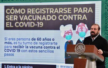 Inicia registro para vacunación de mayores de 60 años contra el covid; esto deben hacer