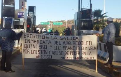 Atatlahuca toma caseta de Huizto para exigir cumplimiento de sus demandas
