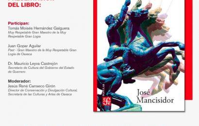 """Invita Seculta a la presentación del libro """"Vicente Guerrero: el carácter"""" del autor José Mancisidor"""