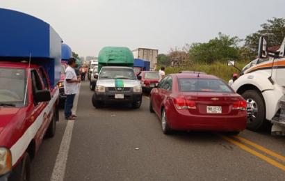 Sin solución conflicto en San Juan Mazatlán; cumplen 10 días de bloqueo