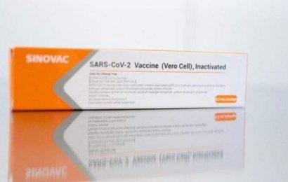 200,000 dosis de vacuna Sinovac llegarán el sábado