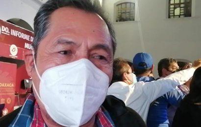 En Atzompa urgen las vacunas contra el COVID-19: Presidente Municipal