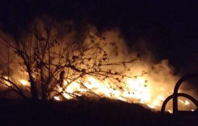 Reportan activo un incendio en Cuilapam de Guerrero, en los Valles Centrales