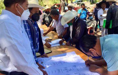 San Juan Mixtepec y Yucunicoco ponen fin a 40 años de conflicto agrario