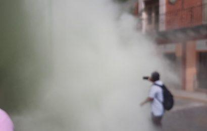Utilizan gas de un extintor para tomar oficiar de los SSO en Oaxaca