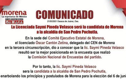 Morena buscará reelección de ediles en algunos municipios de Oaxaca
