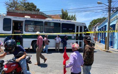 La organización 14 de Junio desquicia calles de la capital de Oaxaca