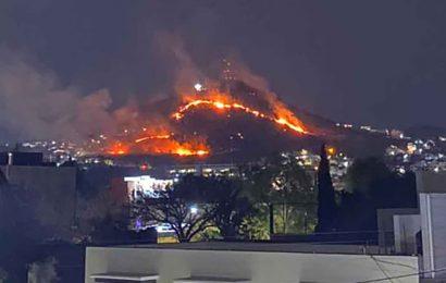 Incendio en cerro del Crestón habría sido provocado