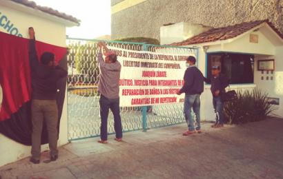 Por segundo día, Ucidebacc protesta en la DDHPO
