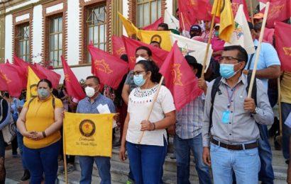 Protestas organizaciones para exigir destitución de Peimbert en la Fiscalía