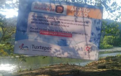 Cerrarán centros recreativos, balnearios y ríos en Tuxtepec durante Semana Santa