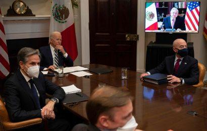Presidentes de México y EU destacan buenas relaciones entre ambos países