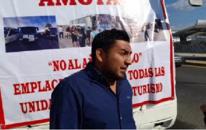 Con bloqueo, transportistas denuncian extorsión y altas cuotas