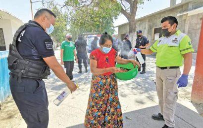 Domingo de Ramos fue diferente: así adaptaron ritual en Juchitán