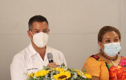 Presentan Murat y Federación estrategia para vacunación de personal de educación
