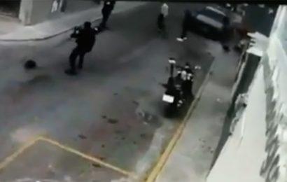 Video captó a policías municipales que balearon a herreros en Ixcotel