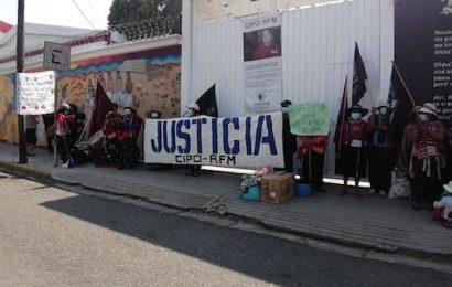 Con bloqueo, CIPO pide reunión con ARM; exigen el regreso seguro de Gatica